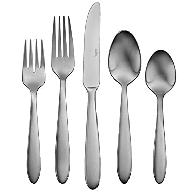 Oneida Satin Mooncrest 45-Piece Flatware Set, Service for 8