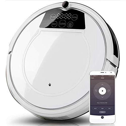 Best Price MAKE FINE Robot Vacuum Cleaner Smart Vacuum Cleaner with Level 3 Cleaning System with Dro...