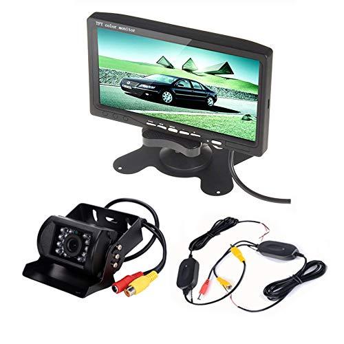 Boomboost 7 Pouces TFT LCD Écran Couleur Moniteur Moniteur de Voiture Vue Arrière Parking HDMI + 18mm Couleur