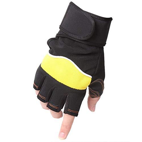 Targogo Herren Handschuhe Draussen Frühling Männer Hjahr Und Sommer Hantel Gewicht Rutschfeste Handschuhe Für Und Frauen (Color : C, Size : One Size)