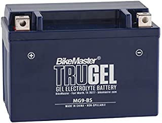 BikeMaster TruGel Battery MG9-BS for Suzuki LT-Z250 Quadsport 2004-2011