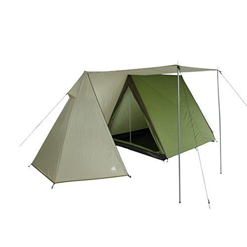 10T Zelt Mungaroo 3 Mann Hauszelt wasserdichtes Campingzelt 3000mm Familienzelt Wohnraum Stehhöhe