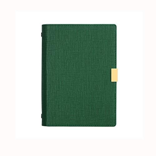 SFF Cuadernos de Oficina Cuaderno de páginas en Blanco Llana Recargable Hardcover Bloc de Notas Diario de Brown Vintage PU de Cuero for Viajes Muchachos de Las niñas Cuaderno de Tapa Blanda