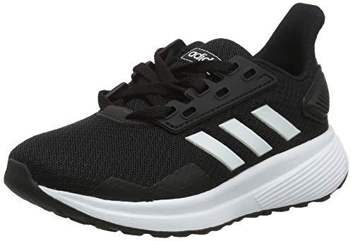 adidas Unisex-Kinder Duramo 9 K_bb7061 Fitnessschuhe, Schwarz (Negbás/Ftwbla/Negbás 000), 38 EU