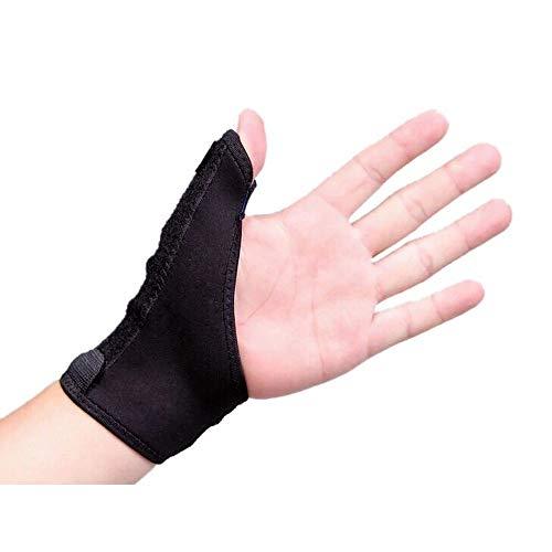 親指サポーター フリーサイズ 1枚(左右兼用)手首固定 ばね指 腱鞘炎 突き指 関節症 捻挫 親指付け根の骨折 脱臼 など