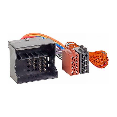 Audioproject A183 - Radioadapter Quadlock auf ISO kompatibel für VW Audi Skoda Seat Golf 5 6 Polo 9n T5 Passat Auto-Radio Adapter-Kabel Stecker