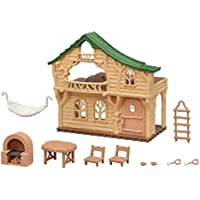 Calico Critters Lakeside Lodge Gift Set with Figures, Furniture and Accessories