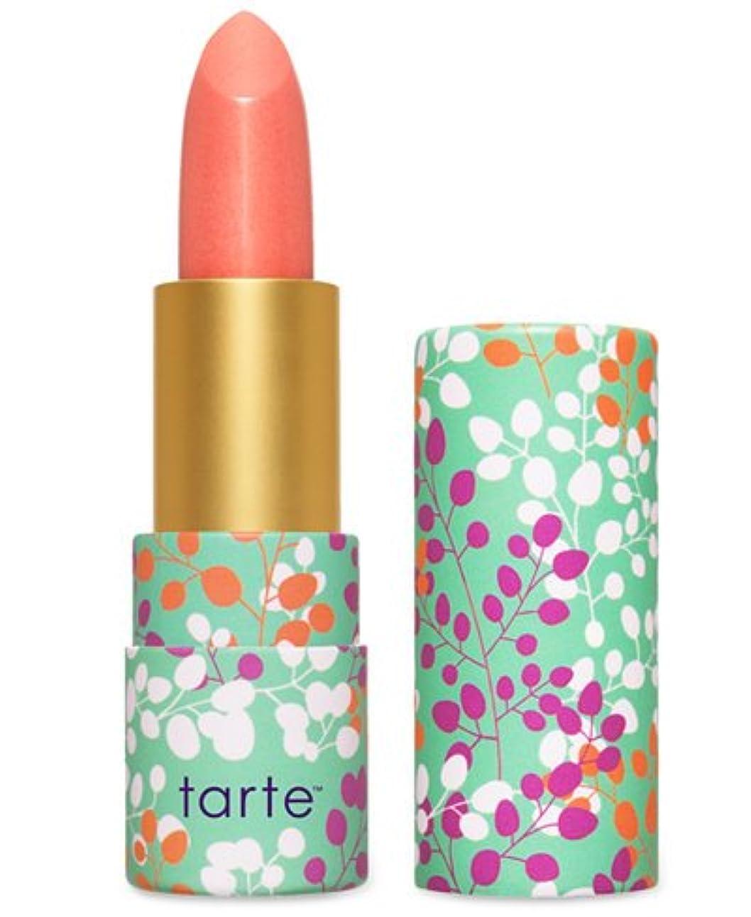 ガイド耐えるラジエーターTarte Amazonian Butter Lipstick ターテ アマゾニアン バターリップステック coral blossom  [並行輸入品]