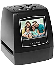 Ajcoflt Protable Negative Film Scanner 35mm 135mm Slide Film Converter Foto Visor de Imágenes Digitales con 512MB de Software de Edición de Memoria Incorporado