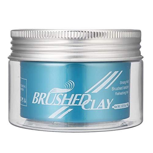 Garosa 100g Hair Styling Wax Hydraterende, Langdurige Schoonheidssalon Haarcrème Haargel Wax Matte gestructureerde haarwax voor mannen, vrouwen en al het haar [100g]
