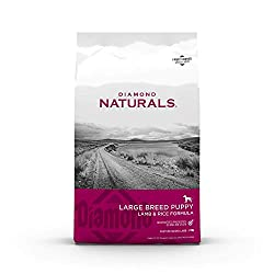 Diamond Naturals Real Meat Recipe Premium Dry Dog Food Breed Size Specific - best puppy food for large breed
