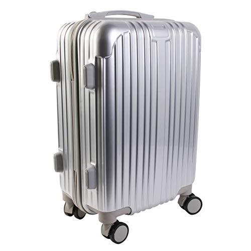 CMP Paris VO1360-LGSP Grey Cabin Suitcase, 40 L, Black, Standard