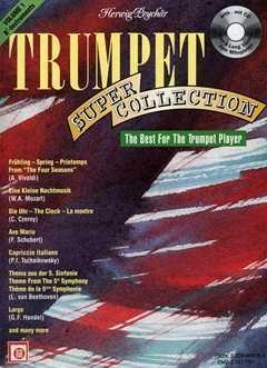TRUMPET SUPER COLLECTION 1 - arrangiert für Trompete mit CD [Noten / Sheetmusic]