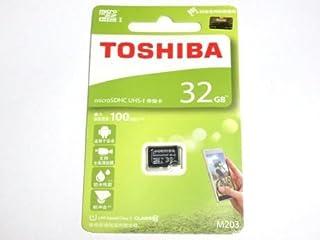32GB TOSHIBA 東芝 microSDHCカード CLASS10 UHS-I対応 R:100MB/s 海外リテール THN-M203K0320C4
