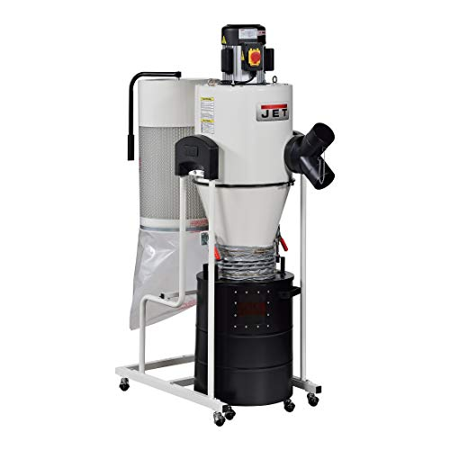 Jet JCDC-1.5 Cyclone Dust Collector, 1.5HP, 115V (717515)
