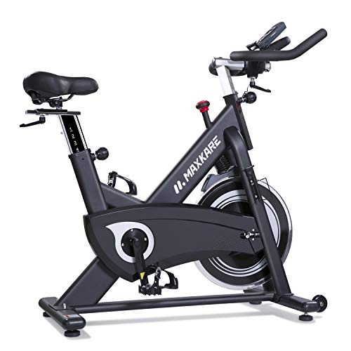 MaxKare Magnetic Belt Drive Indoor Cycling Bike Under $500