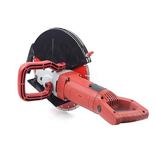 Máquina eléctrica de pared de 3600 W con ranura para hormigón cortadora de ranuras máquina de corte encuadernar cables de cerámica hormigón ladrillo rojo