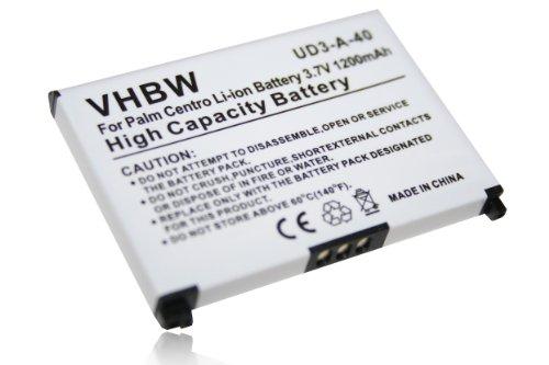 vhbw Akku passend für Palm Pixi, Pixi Plus, Pre Plus Handy Smartphone Handy (1200mAh, 3.7V, Li-Ion)