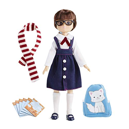 Lottie School Days Doll | Doll With Glasses & Doll Backpack For Dolls