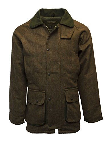 Mens Derby Shooting Hunting Country Brown Tweed Jacket