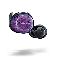 Limited Edition Color Ultraviolet with Midnight Blue Truly wireless sport headphones for total freedom of movement, packed full of technology that makes music sound clear and powerful Earbuds are sweat and weather resistant (with an IPX4 rating) and ...
