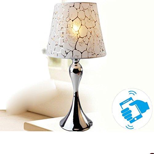 Preisvergleich Produktbild YFF@ILU Schlafzimmer Bett Fernbedienung Lampe,  einstellbare Farbtemperatur WLAN smart LED Tischleuchte,  Mobile Phone Version