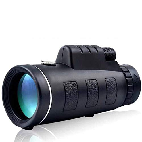 Lowest Prices! JHLD Compact Professional Monocular, High Power HD Monocular, for Bird Watching, Camp...