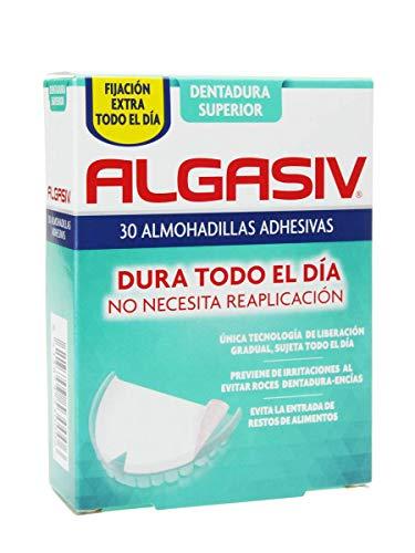 ALGASIV - ALGASIV Almohadillas Adhesivas Dentadura Superior 30 unidades