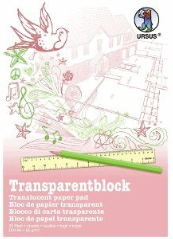 Ludwig Bähr 10 10 10 x Transparentpapier Block 85g qm A4 VE25 Blatt weiß B075YSXVS9 | Attraktive Mode  373ecf