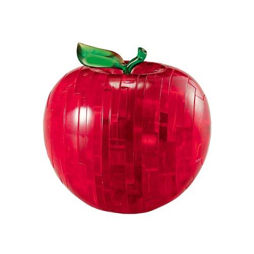 Crystal Puzzle - 6190005 - Puzzle 3D - Pomme - Rouge