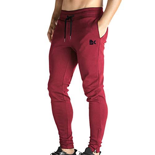 Broki - Pantalones de chándal ajustados con cremallera para