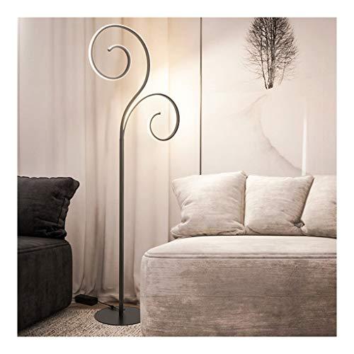 Staande lampen, dimbare LED-vloerlamp, modern minimalistisch slaapkamer 's nachts verticaal staande lamp