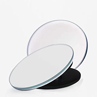 Car Blind Spot Mirrors Frameless HD Glass Convex Wide Angle 360° Rotatable Adjustable Stick-On Rear View Mirrors