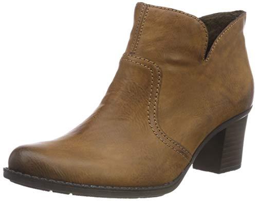Rieker Damen L7688 Kurzschaft Stiefel, Braun (Chestnut 22), 40 EU