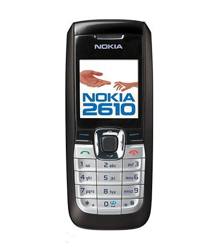 Handy Nokia 2610 Black Ohne Simlock