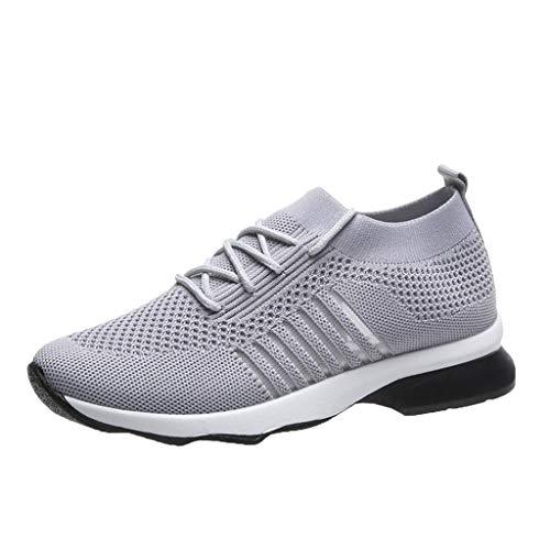 TTLOVE Damen Walking Schuhe Socken Turnschuhe Mesh Slip On Lazy Schuhe Bequeme Laufschuhe Atmungsaktiv Turnschuhe Casual Slip Fashion Sports Outdoor-Schuhe