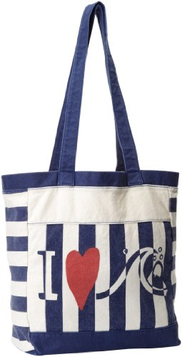 Quiksilver - - Frauen The Bay Tote, O/S, Indigo Blue