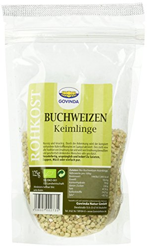 Govinda Buchweizen-Keimlinge, 3er Pack (3 x 125 g)