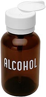 MENDA 35608 Glass/Polypropylene/Steel/Low-Density Polyethylene/Ldpe Dispensing Bottle, Lasting-Touch, Imprinted 'Alcohol',...