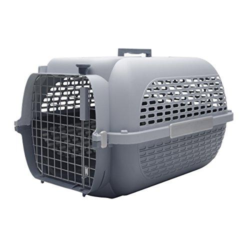 Dogit Transportín para Perros, Talla Extra-Grande, Gris, 66 x 45 x 43...