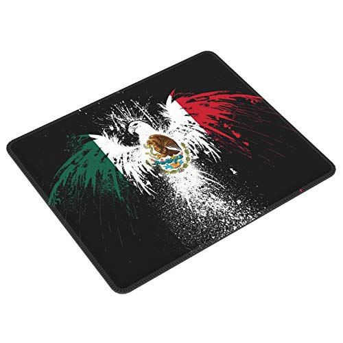 Cool México Eagle Of Arms Bandera Gaming Mouse Pad Gaming Mouse Pad Custom Mouse Mat Mouse Pads Decorativo Para Ordenadores Portátil Teclado