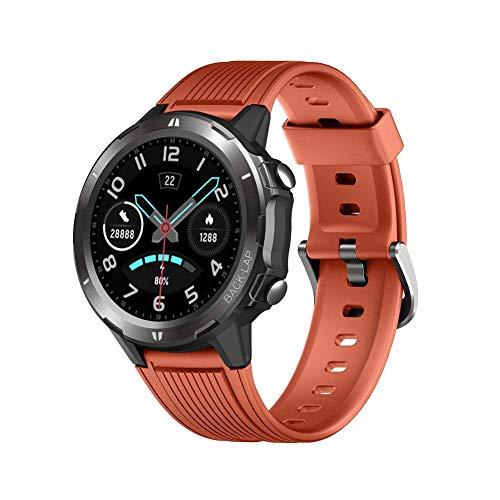 Lintelek Smartwatch Hombre Mujer, Reloj Inteligente con Monitor de Sueño Caloría Ritmo Cardíaco, Pulsómetro Podómetro, Frecuencia Cardíaca, Pulsera Actividad para Xiaomi Huawei y Android iOS