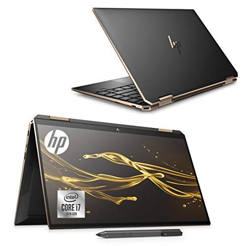 HP ノートパソコン HP Spectre x360 13 インテルCore i7 Optaneメモリー搭載 16GB/1TB SSD 13.3インチ フルHD タッチパネルディスプレイ アクティブペン標準添付 4G LTE 通信モジュール搭載 SIMカード付き Microsoft Office付き アッシュブラック(型番:8WH55PA-AAAZ)