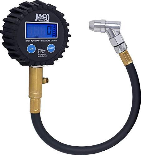 JACO ElitePro Digital Tire Pressure Gauge  Professional Accuracy  100 PSI