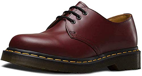Dr. Martens 1461, Unisex-Erwachsene Derbys, Rot (Cherry Red Smooth), 47 EU
