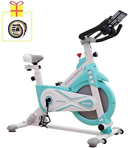 Indoor Spinning Bike Double Spring Schokabsorptie 11KG Vliegwiel Home Hometrainer Speciaal Gewichtsverlies Apparatuur Sport Bike Oefening Rijden dsfhsfd(Upgrade)