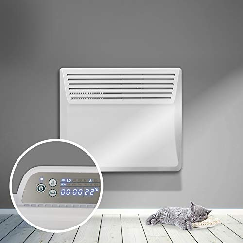 RDN 500W-2000W Electric Panel Heater 24 Hour 7 Day Digital Timer With...