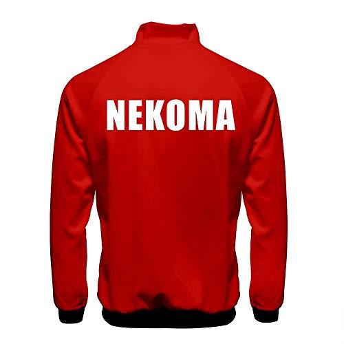 Haikyuu Cosplay Jacke Kostüm Aoba Johsai/Nekoma/Karasuno High School Volleyball Club Uniform Trikot für Erwachsene Halloween