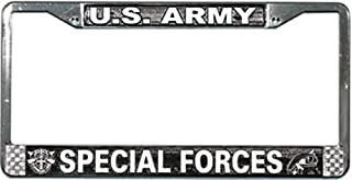 U.S. Army Special Forces License Plate Frame Free Screw Caps with this Frame