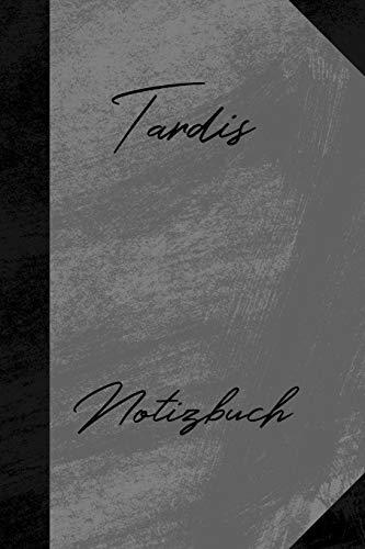 Tardis Notizbuch: Kariertes Notizbuch mit 5x5 Karomuster für deinen Vornamen